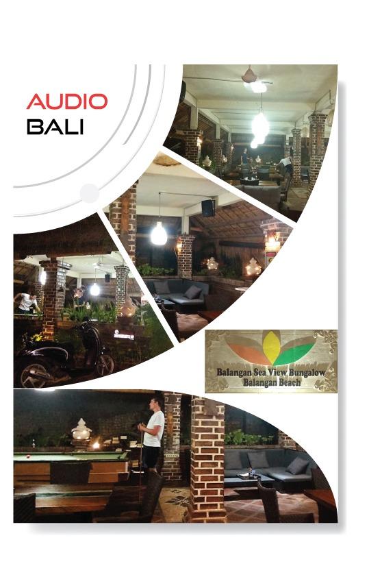 Balangan Sea View - Audio System Cafe & Bar