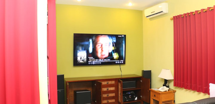 Villa Pushpapuri - Home Theater